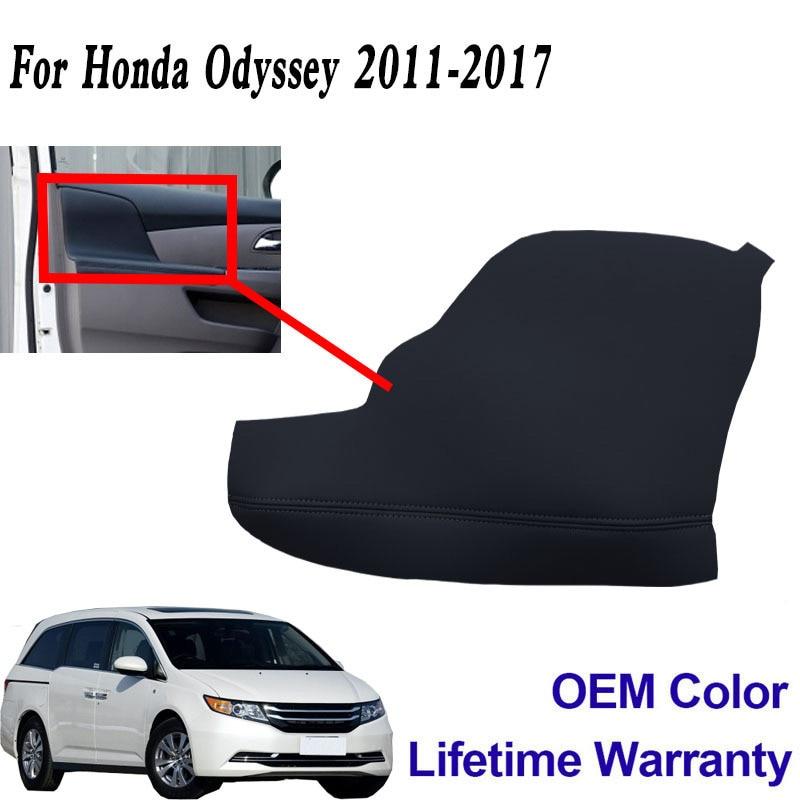 2 шт двери подлокотник обивка кожаный чехол для Honda Odyssey 2011-2017 черный абсолютно новый и высокое качество