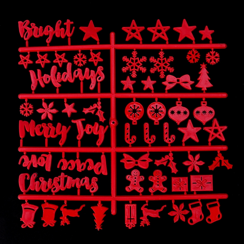 Christmas Felt Sign Board Plastic Letters For Felt Letters Board For Sign Board AXYF