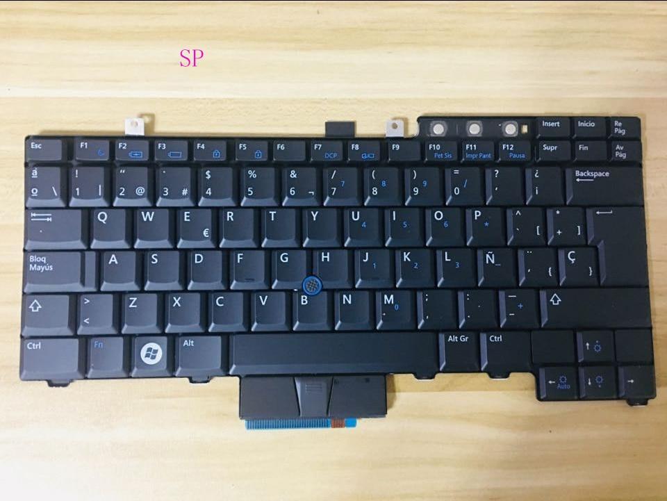Dell Latitude E5400 E5410 E6400 E6500 Precision M2400 Keyboard Latin Spanish