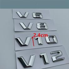 Для mercedes benz v6 v8 v10 v12 amg хвост эмблема задний багажник