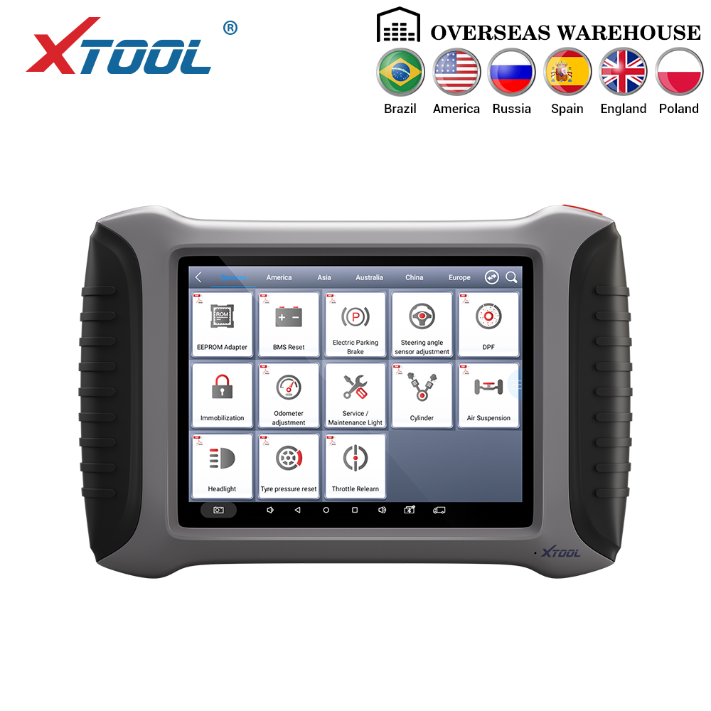 XTOOL A80 Con Bluetooth/WiFi Sistema Completo strumento di Diagnostica Auto Auto OBDII Strumento di Riparazione Auto di Programmazione Del Veicolo/Contachilometri di regolazione