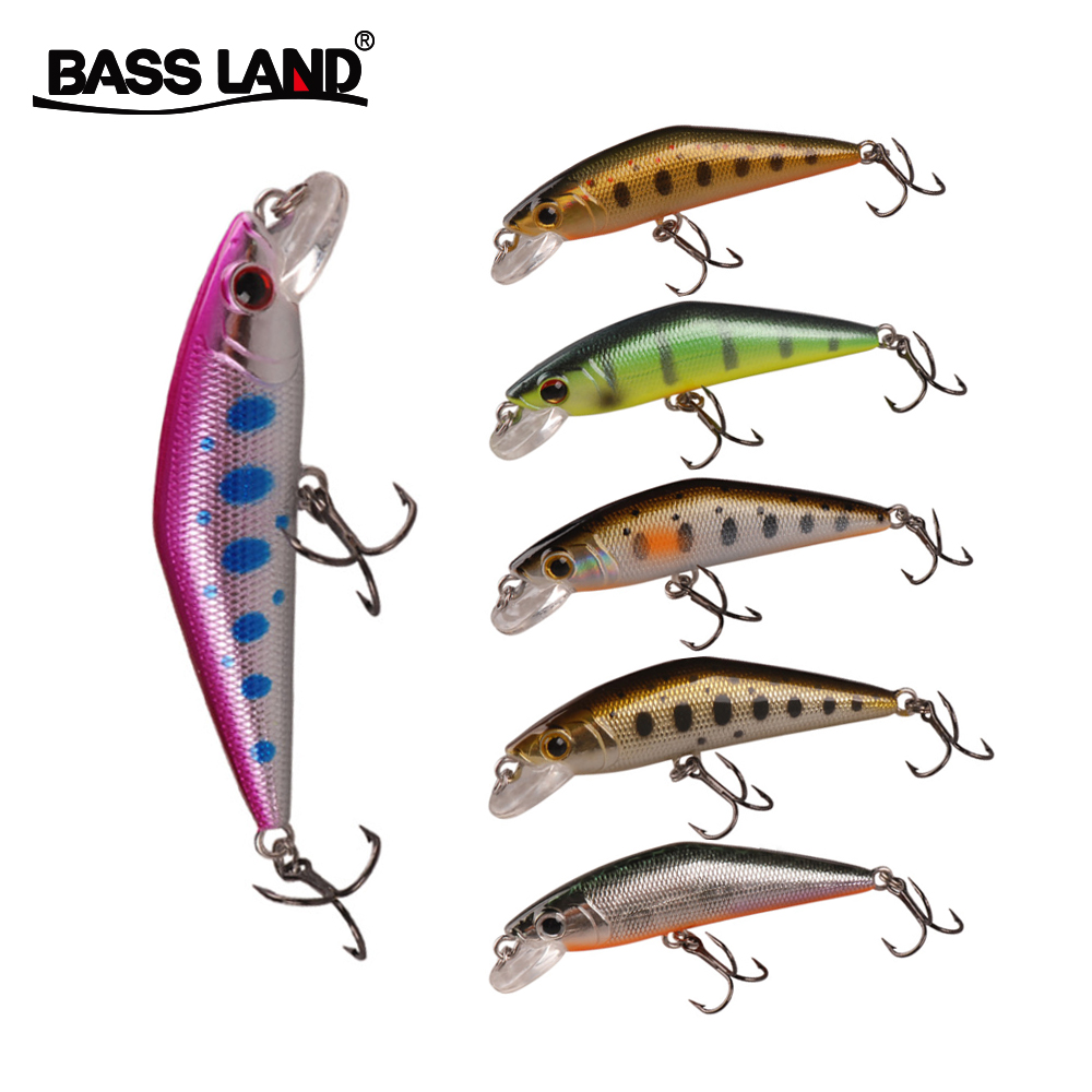 Sinking Trout Minnow 4.3g Isca Artificial Wobblers Fishing Lure Bionic Plastic Hard Bait For Sea Fishing Bass Trout Pike Pesca