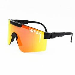 Pit Viper Brand Rose Sunglasses Double wide Polarized mirrored lens tr90 frame uv400 wih case Gafas De Sol occhiali Oculos