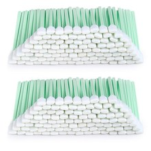 200Pcs 5.11 Inch Square Rectangle Foam Cleaning Swab Sticks for Solvent Format Inkjet Printer Roland Optical Equipment(China)