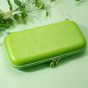 Image 2 - Funda de goma EVA portátil para Nintendo Switch, funda rígida, bolsa de transporte, bolsos cruzados, accesorios de almacenamiento