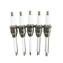 Proportional burner ignition needle / gas stove ceramic spark ignition electrode / industrial burner gas cooktop stove ignition electrode spark plug with wire suitable for sabaf burner
