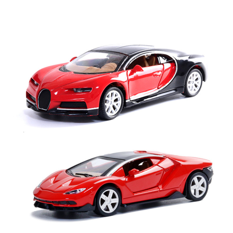 Alloy Car 1:32 Supercar Model Toy Car Simulation Of The Return Of The Car Baking Decorations Gift For The Children