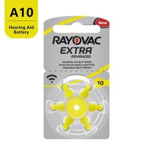 Image 3 - 120 PCS di Zinco Aria Rayovac Extra Prestazioni Batterie per Apparecchi Acustici A10 10A 10 PR70 Hearing Aid Batteria A10 Trasporto Libero