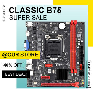 DAIXU B75M desktop motherboard B75 LGA1155 for i3 i5 i7 CPU support ddr3 memory up 16GB