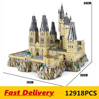 DHL MOC Movie series Magic Castle Model sets Assembly Kits Toys Building Blocks Bricks Kids Educational Toys Christmas Gifts image