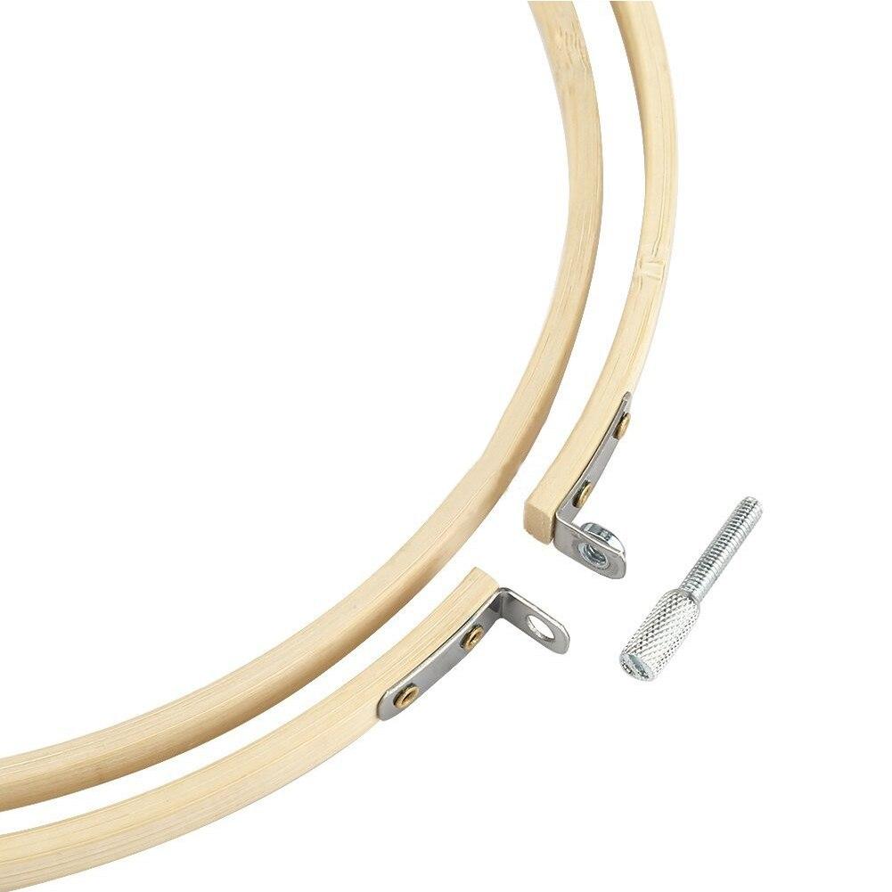 5 шт. набор обручей для вышивки деревянное кольцо рукоделие инструмент для шитья ювелирные изделия многоцелевой художественный ремесло Домашний Вышивка крестом ручные аксессуары