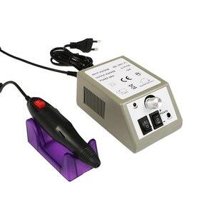"Image 5 - 35000/20000 סל""ד חשמלי נייל מקדחת מכונת סט עבור מניקור פדיקור ג ל החזק מסיר נייל מקדחת קובץ שמאל יד ליטוש ערכה"