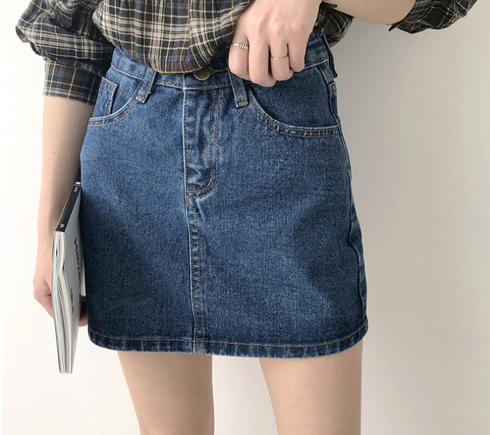 2020 Women Sexy Denim Mini Skirt White Black Blue Package Hip Jean  Skirt Fashion High Waist  High Quality Shorts Skirt