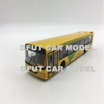 1:76 Alloy Pull Back Toy British single deck bus Car Model Of Children's Toy Cars Original Authorized Authentic Kids Toys