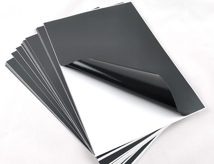 Size A4 Black Self Adhesive Vinyl Film Sticker For Paper Craft Scrapbooking Cardmaking 2/10/30/50pcs You Choose Quantity
