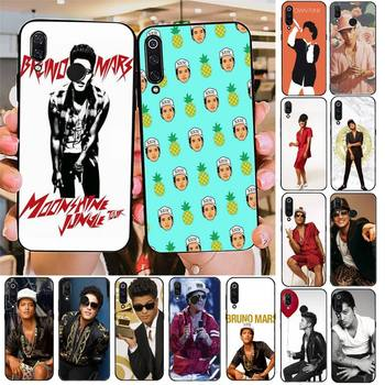YNDFCNB Bruno Mars Silicone Black Phone Case For Redmi note 8Pro 8T 6Pro 6A 9 Redmi 8 7 7A note 5 5A note 7 case image