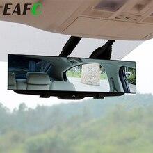 1 stücke Universal HD Auto Rückspiegel weitwinkel Rückspiegel Flugzeug Breite Innen Clip-auf Hinten spiegel Panorama
