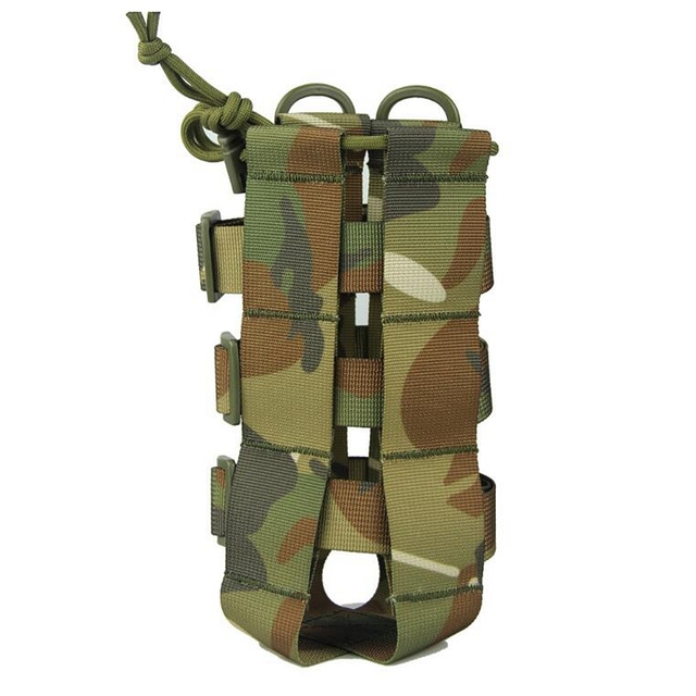 2020 New Tactical Molle Water Bottle Pouch Oxford Military Canteen Cover Holster Outdoor Travel Kettle Bag With Molle System 5
