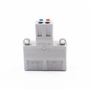 Image 5 - Neue Kabel Stecker 2 In 4/6 Splitter Kabel Terminal Kompakte Draht Stecker Schraube Fixiert Stecker 2 in 4 Out / 6 heraus 32A RUOXI