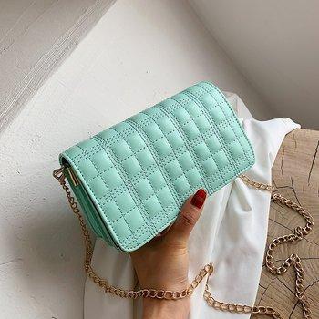 2020 Trend Luxury Brand Designer Quilted Purse Handbag Clutch Bags black Envelope Big Tote Shoulder Crossbody Bag Women trend janeke black quilted travel bag medium