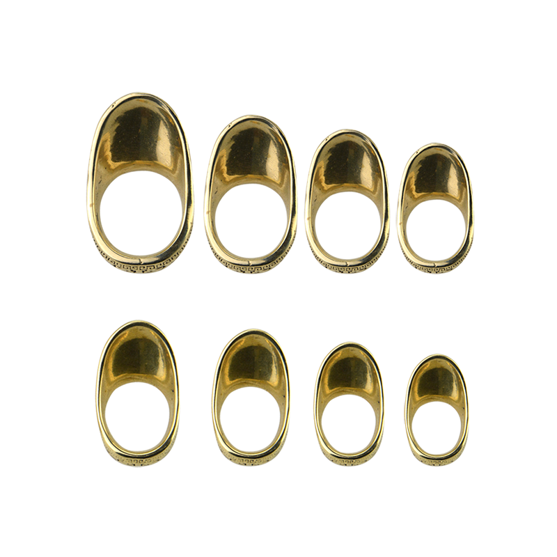 1PC Archery 16-23mm Copper Thumb Finger Guard Ring Protector Traditional Brass Protector Gear For Shooting Hunting Accessories