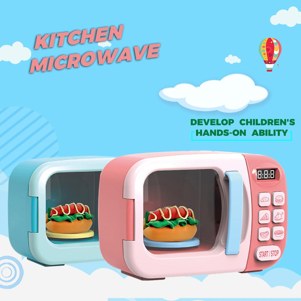Microwave Oven Educational Toys