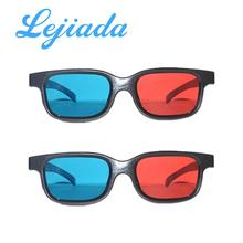 LEJIADA red and blue 3D glasses video projector red and blue 3D glasses TV red and blue 3D glasses