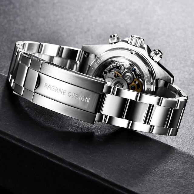 Pagrne Design 1666 Jubilee Men's Sport Watch 6