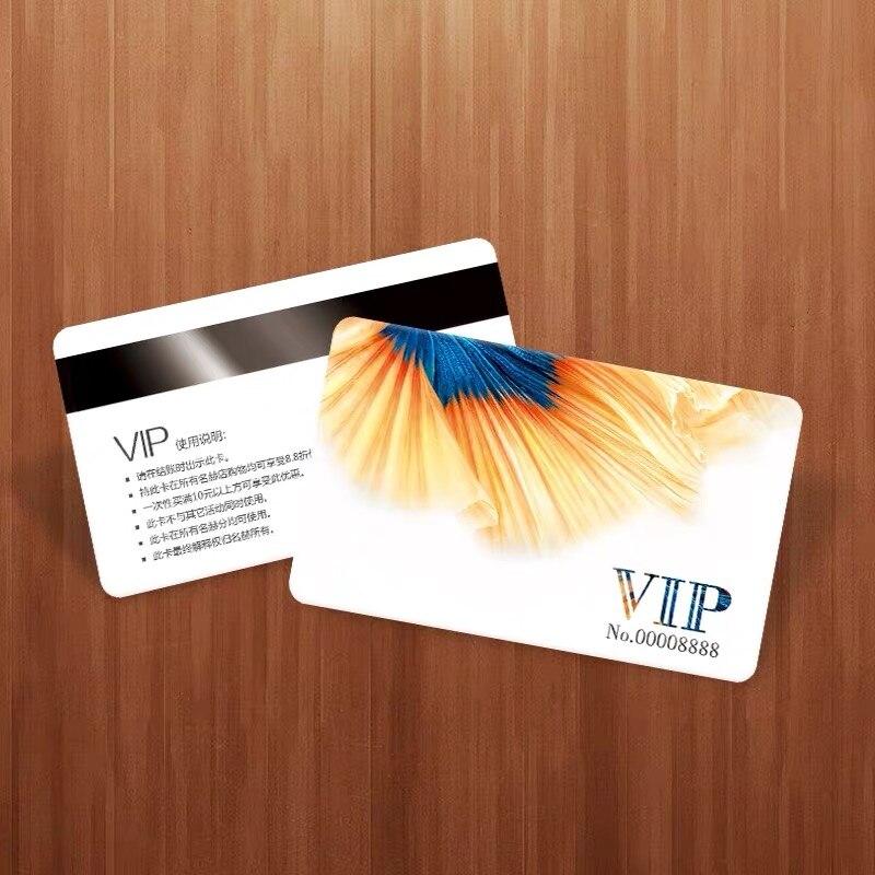 Pvc Plastic Business Card Custom VIP Credit Membership Cards Print Logo Gold Convex Barcode Waterproof on Both Sides Printing