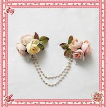 מתוק לוליטה שרשרת סיכת עם פרחים על ידי אינפנטה