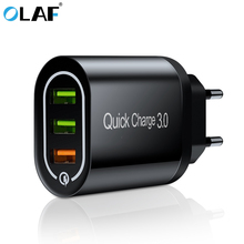OLAF 18W Quick Charge 3.0 USB Charger QC3.0 Fast Charging Multi for Samsung S10 Xiaomi Mi9 iPhone X Wall Phone
