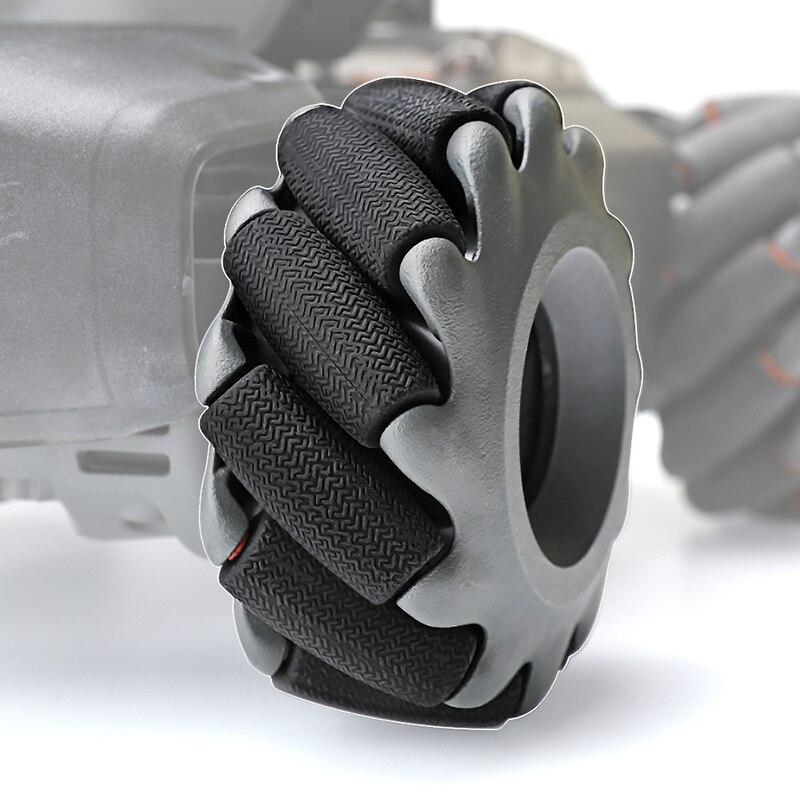 Petit remplacement de pièces de rechange de pneu en caoutchouc de roue de rouleaux pour le robot éducatif intelligent de DJI RoboMaster S1