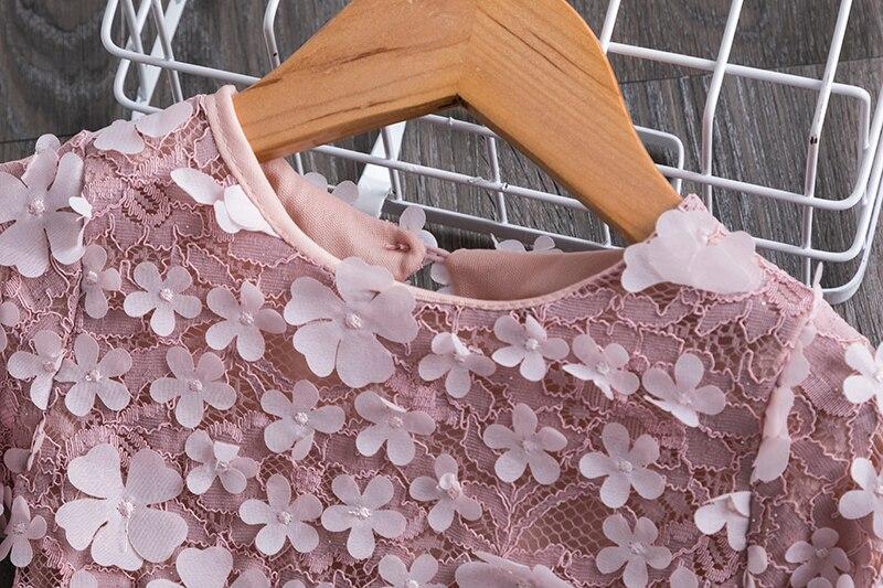 Princess New Year Dress For Girls Children's Birthday Party Costume Children Tulle Fabrics Elegant Wedding Gown For 3 4 5 6 7 8T 3
