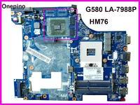 레노버 G580 노트북 마더 보드 GT630/GT635 HM76 용 LA-7981P G580 마더 보드 장착