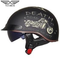 New Arrival Vcoros MT 4 Vintage Retro Motorcycle helmet open face helmet for motorcycle scooter Moto helmet Jet casco