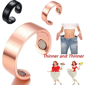 Magnetic Slimming Rings Natural Fat Burning Slimming Ring Magnetic Stimulation Acupoint Burning Fat Slimming Body HealthCare