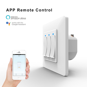 Image 2 - AVATTO Tuya Wifi Light Switch with wall socket, Smart Life APP Control, Smart Wall Switch 1/2/3 Gang Work with Alexa,Google Home