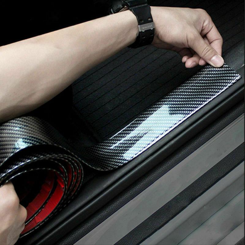 Протектор порога из углеродного волокна для Kia Hyundai Genesis G70 G80 G90 Equus Creta KONA Enduro Intrado NEXO PALISADE Grandmaster
