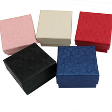 5colors----Square Earrings Ring Box 5x5x3cm Jewelry Box Paper Jewelry Gift Box Jewellery Organizer