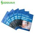 SOOLALA 6 шт., 15x14,5 см очки Анти-туман ткань микрофибра тканевые очки очиститель для Линзы для очков Камера телефон Экран