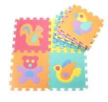 Развивающий детский коврик игровой из вспененного этилвинилацетата