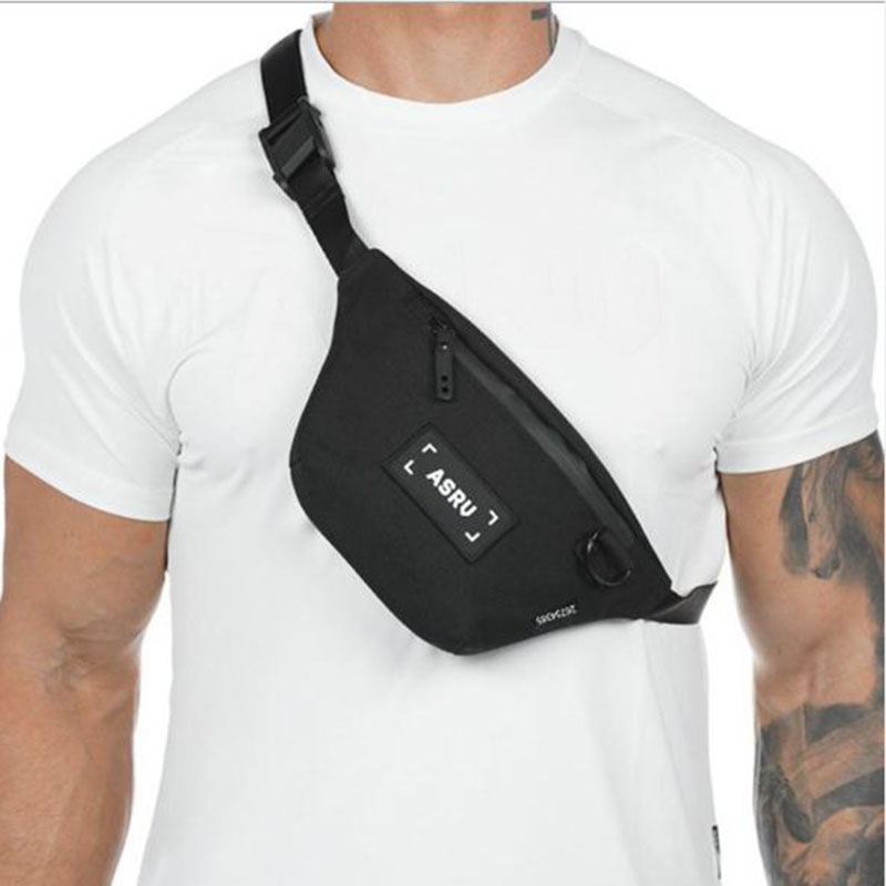 Canvas Sport Fanny Pack For Men's Leisure Outdoor Fitness Men's And Women's Bag Fanny Pack Travel Belt Leg Bag Zipper Bag Bag