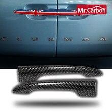 2 pçs tronco do carro bagageira alça abs escudo para bmw mini um cooper s f54 r55 clubman exterior do carro decoração acessórios