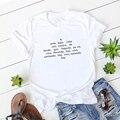 Модная испанская футболка, Женские повседневные футболки с забавным принтом букв, графическая футболка, женский топ, подарок, женские футбо...