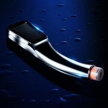 300 piccoli fori pressione Booster acqua risparmio soffione doccia quadrato palmare ABS spruzzatore da bagno SPA bagno doccia a mano filtro nuovo