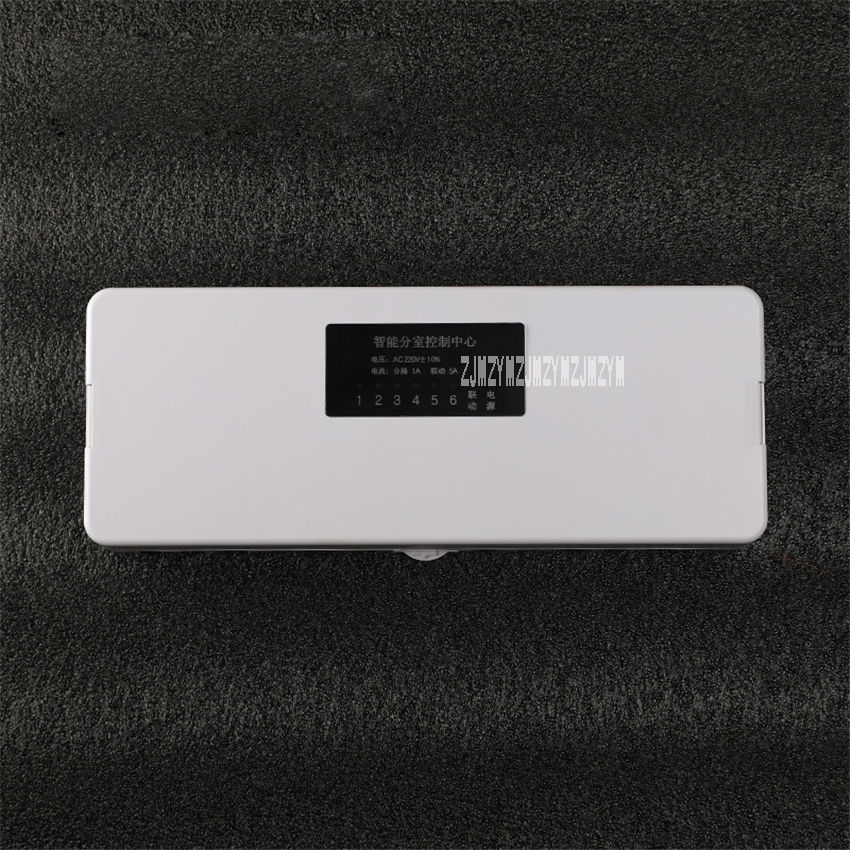 220v 6 Lines Wire Junction Box Electronic Project Box Controller Wiring Board Wiring Box  Floor Heating Room Temperature Control