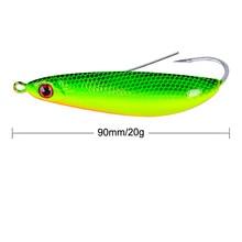 1PC New Crankbait 6 Color Fishing lure Hard Bait 3.54-9cm Crank 0.71oz-20g Tackle Jig Hook Style