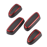 4Pcs Car Seat Adjustment Switch Knob Cover Trim for Land Range Rover Sport Evoque Seat Supports     -