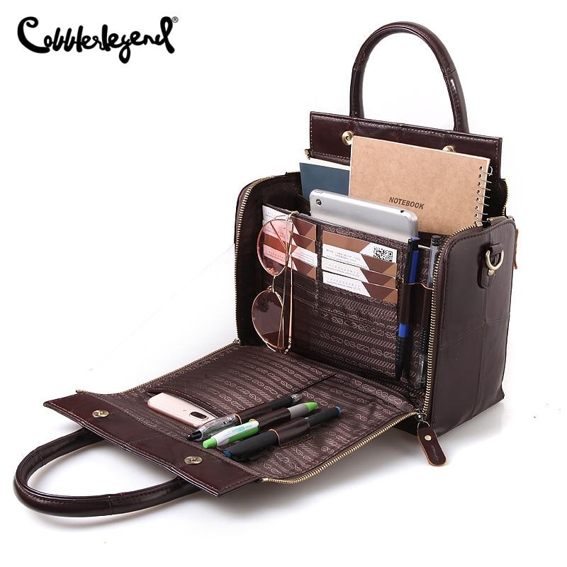 Cobbler Legend Top Handle Bags Genuine Leather Handbag Summer Fashion Shoulder for Women 2020 Vintage Designer Brand Crossbody|Top-Handle Bags| - AliExpress