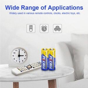 Image 5 - 50 pièces PKCELL AA batterie 1.5V aa Super robuste carbone zinc Batteries aa R6P UM 3 batterie pour jouets, appareil photo, laser, lampe de poche